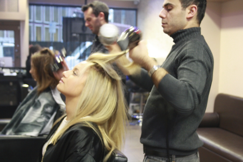 The famous quick blowdry by Leticia Haute Coiffure