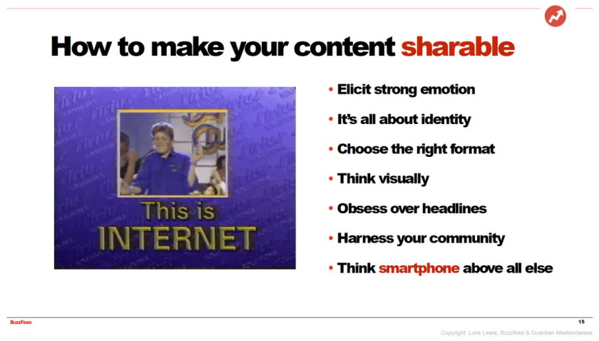 tips for shareable content