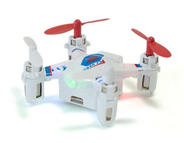 drone in white
