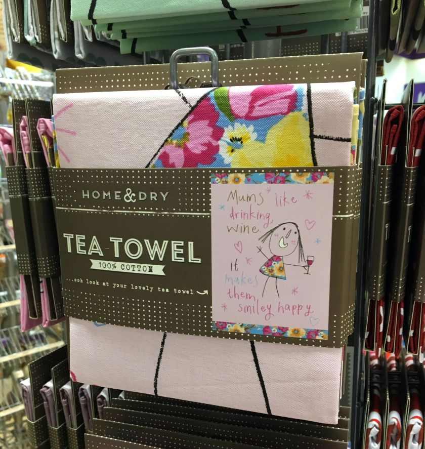drinking tea towels