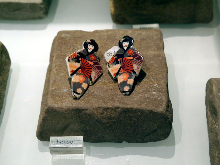 geisha earrings v&a
