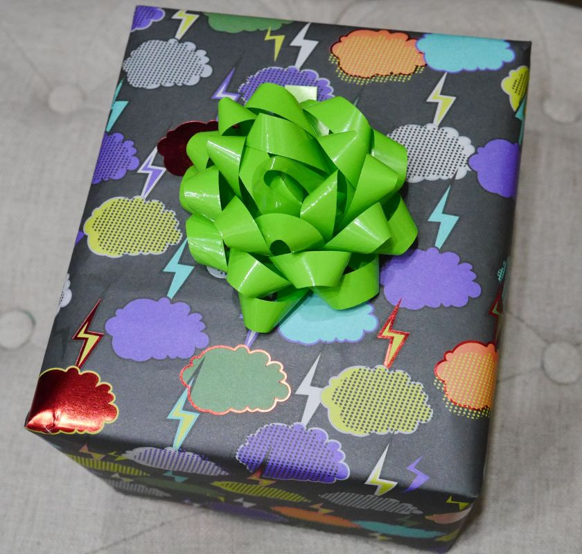 wrapped toy gift