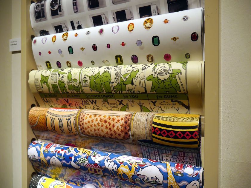 wrapping paper v&a