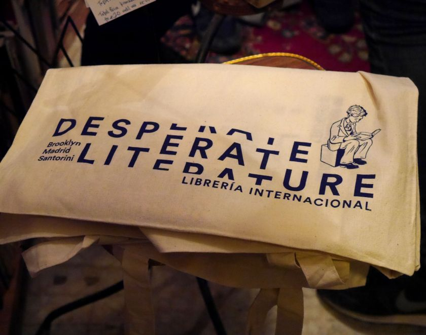 desperate literature bag