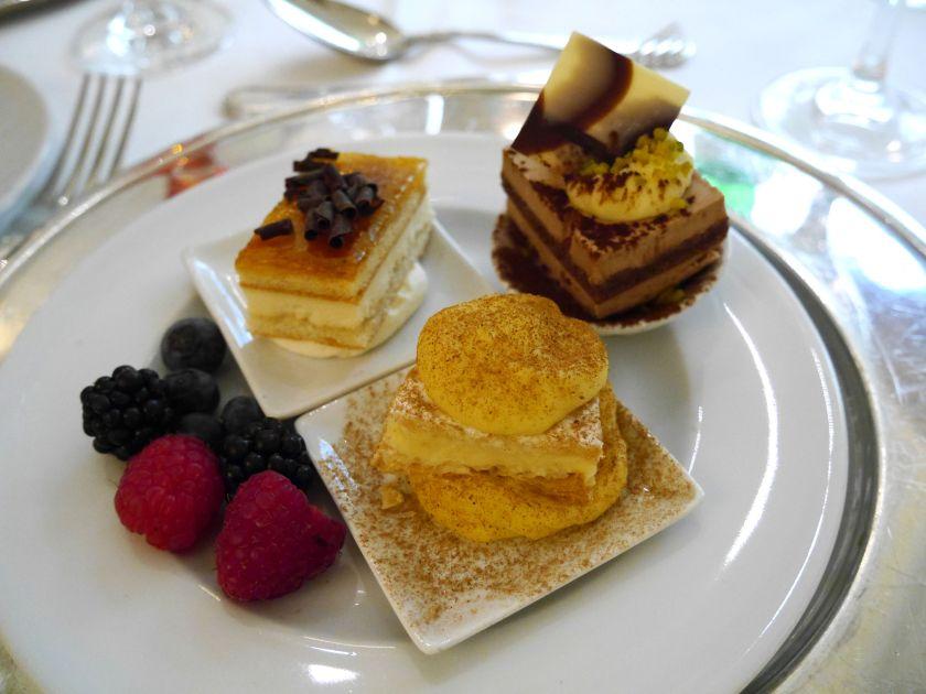 desserts at the opera