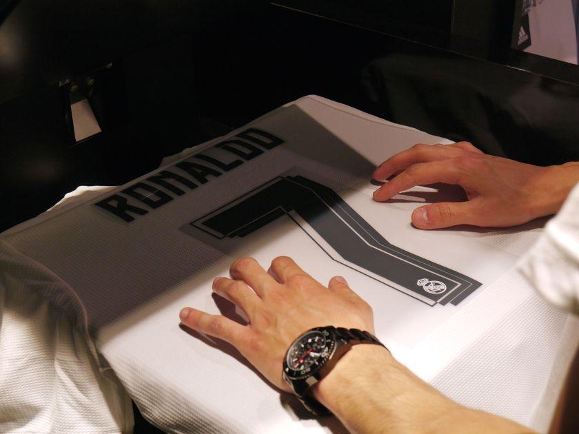 printing ronaldo tshirt